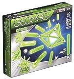 Geomag- Glow Construcciones magnéticas y juegos educativos, Multicolor, 30 piezas (335)