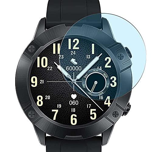Vaxson 3 Unidades Protector de Pantalla Anti Luz Azul, compatible con CUBOT N1 1.28' smart watch smartwatch [No Vidrio Templado Carcasa Case ] Película Protectora Film Guard