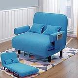 Hamaca para Acampar, Cama Plegable para Exteriores, sofá Cama Convertible, sillón con Brazo Plegable, diseño Ajustable, fácil Almacenamiento, Ahorro de Espacio para Interior, hogar, jardín,