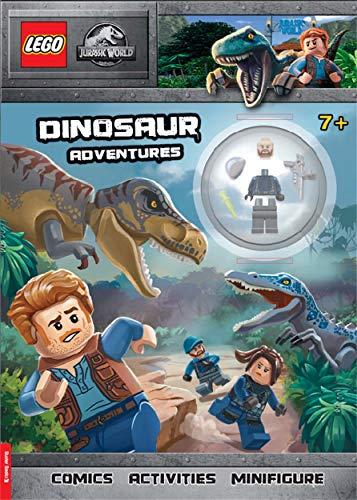 LEGO (R) Jurassic World (TM): Dinosaur Adventures: Activity Book with Minifigure