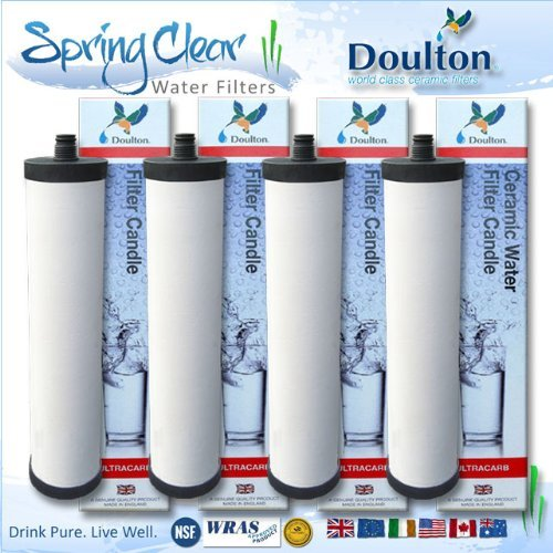 4 x Pack - Franke Triflow Compatible Filter Cartridges By Doulton M15 Ultracarb (NO Import Duty or Taxes to pay on this product)