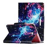 LMFULM® Étui pour Samsung Galaxy Tab A 2015 SM-T550 / T555 (9,7 Pouces) PU Cuir Poche Cas Flip...