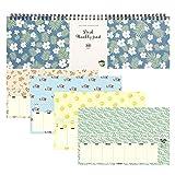Hashi Wöchentliche Planer Pad - wöchentlich und täglich Planung Tastatur Paper Pad 13'X 4'