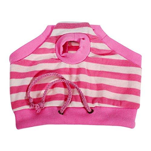 Culotte Sanitaire à Rayures pour Chienne Animal Femelle - Taille L