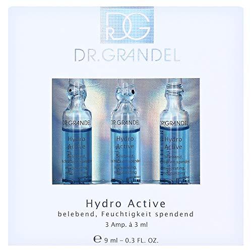 Dr. Grandel Wirkstoff Ampullen ALLE Sorten im 3er Pack auswählbar (Hyaluron,Retinol,Anti Age,Collagran usw.) (Hydro Active)