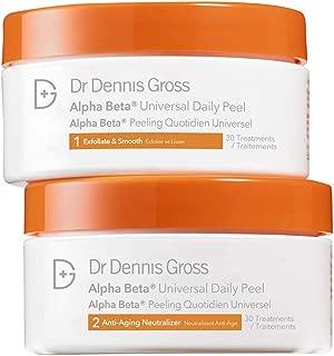 Dr. Dennis Gross Skincare Alpha Beta Peel, Original Strength, 30 Count Jar