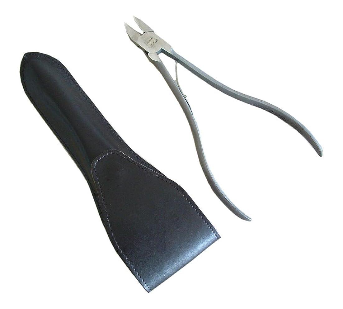 留まる理想的コードレスタナカマイスター ロングニッパー型爪切り(レザーケース入り)