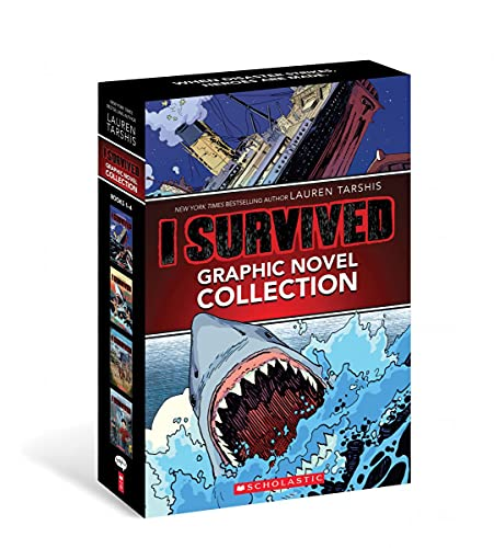 Compare Textbook Prices for I Survived Graphic Novels #1-4: A Graphix Collection  ISBN 9781338787917 by Tarshis, Lauren,Haus Studio,Sarraseca, Álvaro,Egbert, Corey