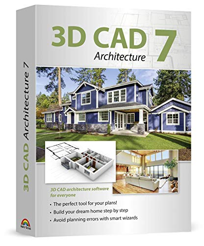 3D CAD 7 Architecture - Plan & design buildings from initial rough sketches to the finished blueprints - CAD and architecture software for Windows 10, 8.1, 7