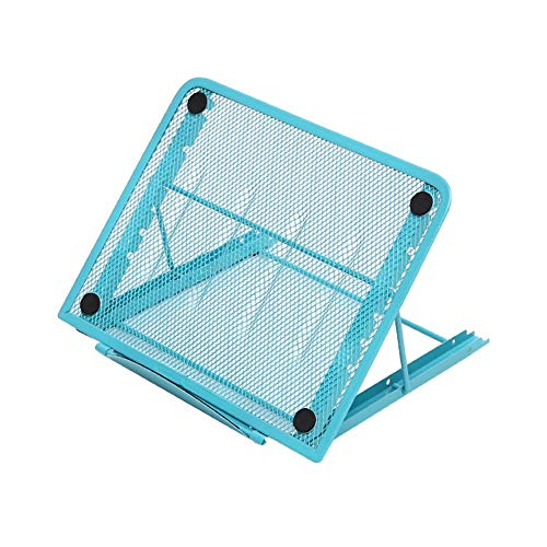 XIAOWEI Laptop stand tablet ventilated adjustable laptop holder adjustable metal mesh compartment