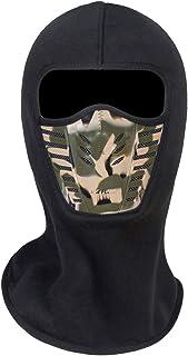 Adult Winter Fleece Grasping Balaclavas Face Cover Windproof Ski Mask Hat Halloween.YR.Lover