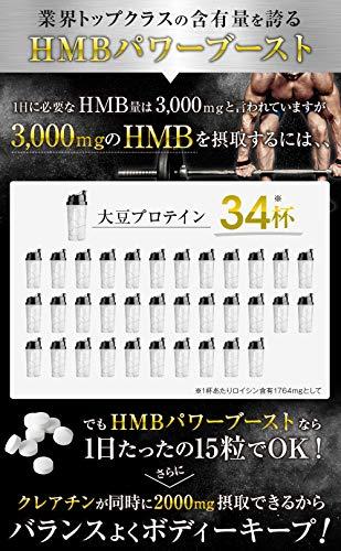 BULKEY(バルキー)HMB90000mgクレアチン60000mgPOWERBOOST450粒(1)