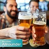 polar-effekt Leonardo Weizenbierglas 0,5l mit Gravur personalisierte Weizenglas Geschenk-Idee – Bierglas für Männer und Frauen zum Geburtstag – Motiv Ornament - 6