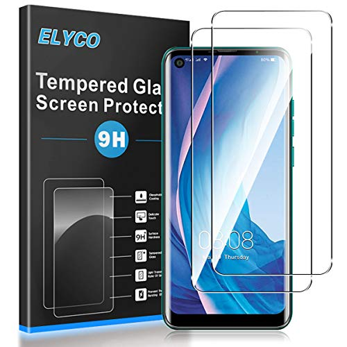 ELYCO Cristal Templado Protector de Pantalla para Ulefone Note 11P, [2 Unidades]...