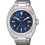 Citizen Reloj Analógico para Hombre de Automático con Correa en Acero Inoxidable NJ0100-89L