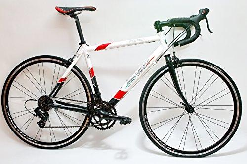 Da Vinci Rennrad 14 G Compact A070 mit Shimano Lenkerschaltung (59 für Körpergröße 183 bia 195 cm)