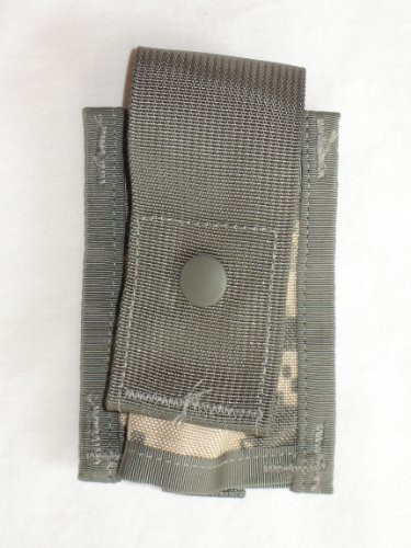 US Military MOLLE II 40MM High Explosive Single Pouch, ACU by Specialty Defense Systems