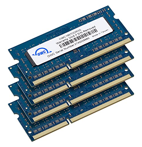 OWC 64GB (4 x 16GB) 1867 MHZ DDR3 SO-DIMM PC3-14900 204 Pin CL11 Memory Upgrade