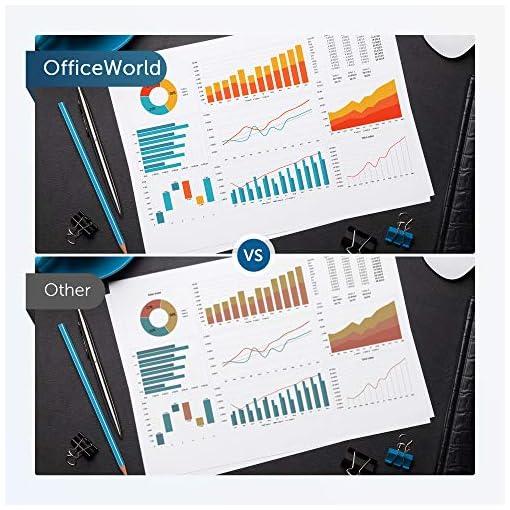 OFFICEWORLD Compatible HP 125A CB540A CB541A CB542A CB543A Toner Cartuchos para HP Color LaserJet CM1312 CM1312n… 7