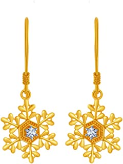 P.C. Chandra Jewellers 10KT Yellow Gold Stud Earring for Women