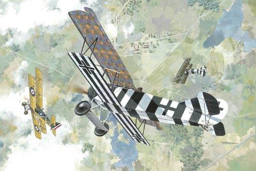 Roden 415 Modellbausatz Fokker D.VII (early)