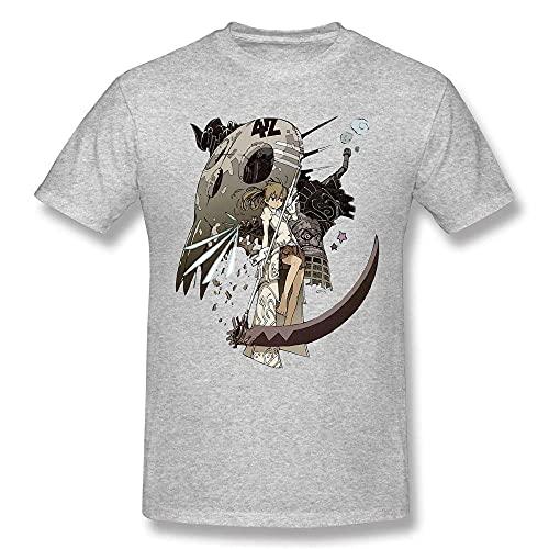 Camisetas Para Hombre Camiseta Gráfica De Moda Camiseta Clásica De Manga Corta Informal Para Hombre Camisetas De Algodón Con Cuello Redondo Camisetas Para Acampar Al Aire Libre Gray Xl
