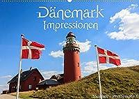 Daenemark Impressionen (Wandkalender 2022 DIN A2 quer): Daenemarks Landschaften und Sehenswuerdigkeiten (Monatskalender, 14 Seiten )