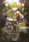 Magus Of The Library 01: 1ª edicion Postal par Izumi