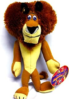 """Madagascar 3 Europe's Mosted Wanted 14"""" Alex the Lion Plush Figure Doll Toy"""