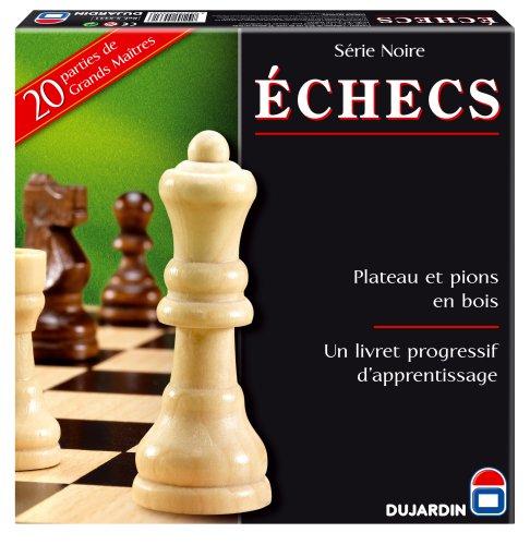 Dujardin Jeux - Série Noire Echecs Plateau