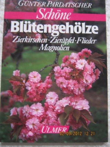 Schöne Blütengehölze. Zierkirschen, Zieräpfel, Flieder, Magnolien