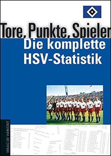 Tore, Punkte, Spieler – Die komplette HSV-Statistik