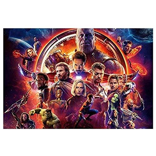 CXF Captain America Comics Hulk Film aus Holz Poster Puzzle 300/500/1000 Avenger Series Puzzle (Größe : 300 Pieces)