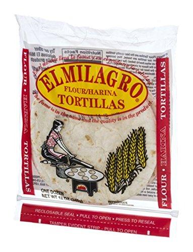 El Milagro Flour Tortillas - 12 CT