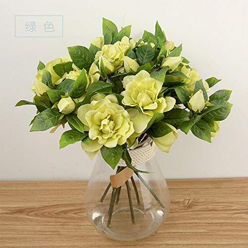Flores Artificial Decoración De FloresCamellia Simulación Flor Venta Al por Mayor Flores Artificiales Boda Decoración del Hogar Inicio C