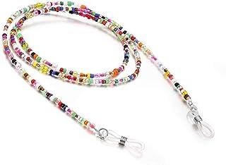 RANHUU Eyeglass Chains for Women Reading Glasses Cords Colourful Sunglasses Chain Holder Lanyards Eyewear Retainer