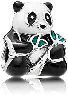 Cute Panda Animal Charms fit Pandora Charms Bracelets