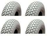 Mobility Scooter Pneumatic Tyres and Tubes- 400-5 - Pack 4 Mobility Scooter Tyres and Inner Tubes - Full Set
