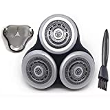 Cabezal Cortador reemplazo la máquina de Afeitar eléctrica, para Philips maquinilla de Afeitar RQ1250, RQ1250CC, RQ1260, RQ1260CC, RQ1280, RQ1280CC, RQ1280X
