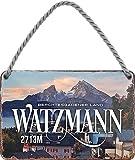 """schilderkreis24 – Blechschild """"Watzmann Berchtesgadener"""