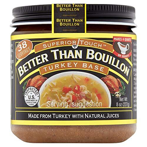 Better Than Bouillon Superior Touch, Turkey Base, 8 oz