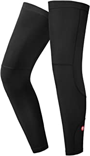 qualidyne Leg Sleeves, Calf Compression Sleeve Fleece Full Long Sleeves Cycling Bicycle MTB Riding Leg Warmers