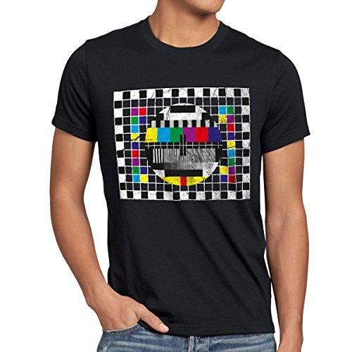 style3 Carta de Ajuste para Hombre T-Shirt televisión Sheldon TV, T-Shirt Hauptfarbe ALT:Negro;T-Shirt Größe ALT:S