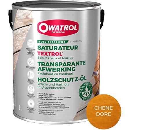 puissant OWATROL – TEXTROL – Saturateur de bois d'extérieur à base d'huiles végétales naturelles pour chalets…