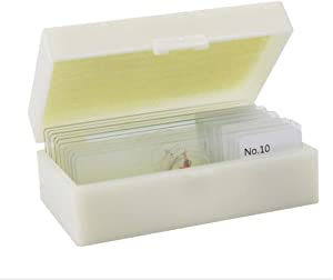 BIUYYY Pcs Microscope Slides Prepared with Specimen for Students Biolo...