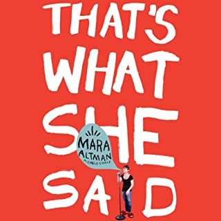 That's What She Said audiobook cover art