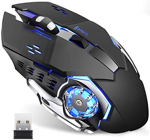 Wireless Gaming Mouse w/ Unique Silent Click -$12.98(81% Off with code)