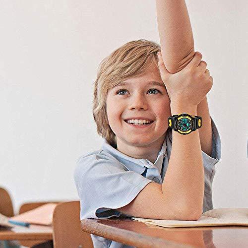 Easony Cadeaux pour Garçons Filles 3-12 Ans, Montre de Sport Enfant Garçons Anniversaire 6-15 Ans...