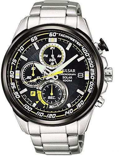 【セット商品】[パルサー] セイコー SEIKO パルサー PULSAR ソーラークロノグラフ腕時計 WRCモデル PZ6003X1 &マイクロファイバークロス 13×13cm付き[並行輸入品]