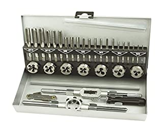 Brüder Mannesmann M53250-B Thread Cutting Tool Set, 32 Pieces (B000K2TC7K) | Amazon price tracker / tracking, Amazon price history charts, Amazon price watches, Amazon price drop alerts